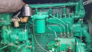 Заводим дизель с пускача техника СССР