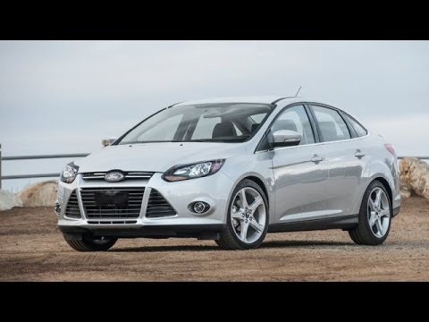 2014 ford focus titanium exterior interior youtube. Black Bedroom Furniture Sets. Home Design Ideas
