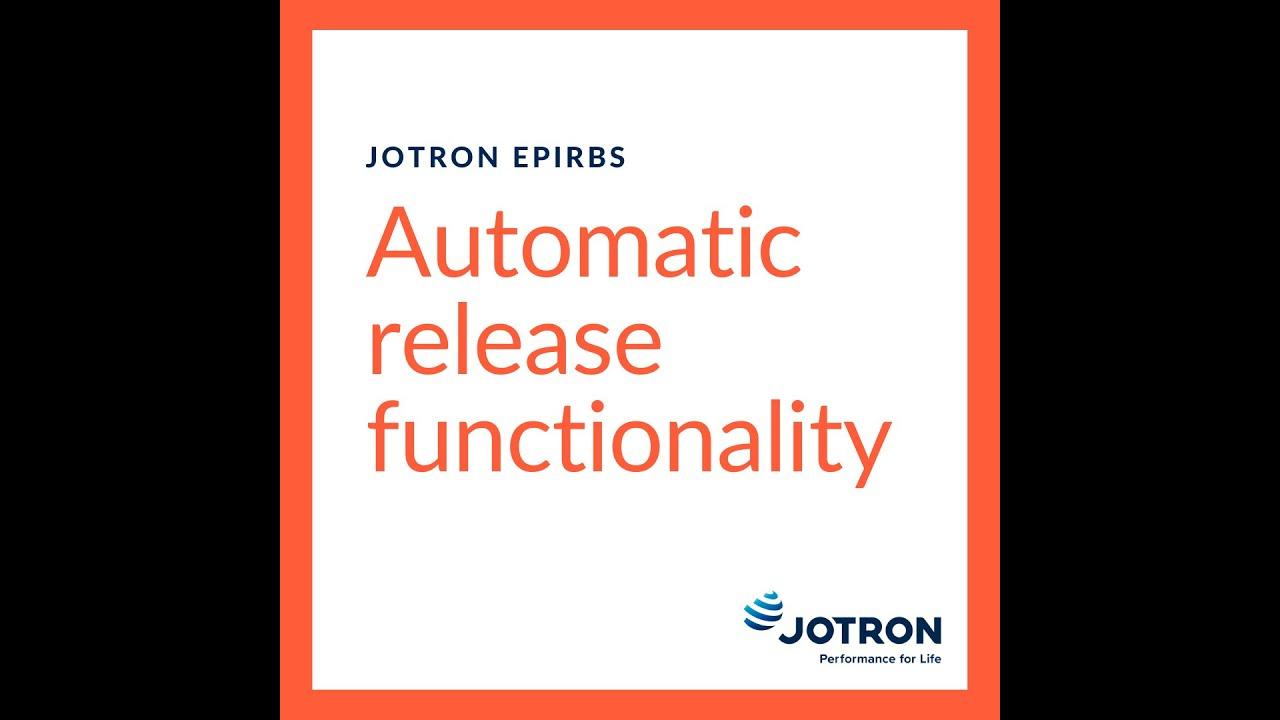 Jotron float-free EPIRB - How it Works