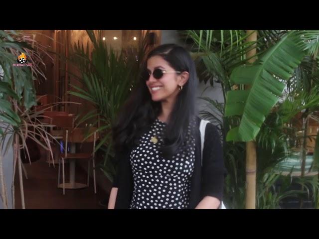 Nimrat Kaur snapped at kitchen Garden juhu