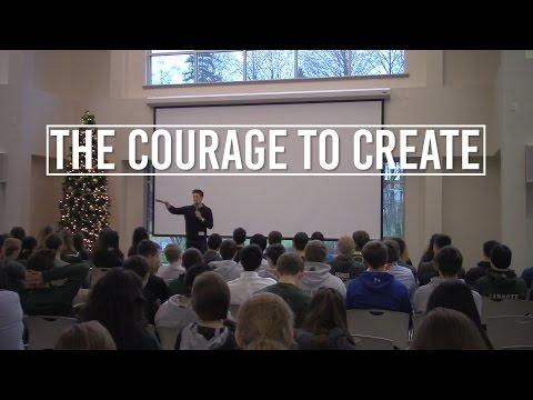 The Courage to Create | Jon Jorgenson