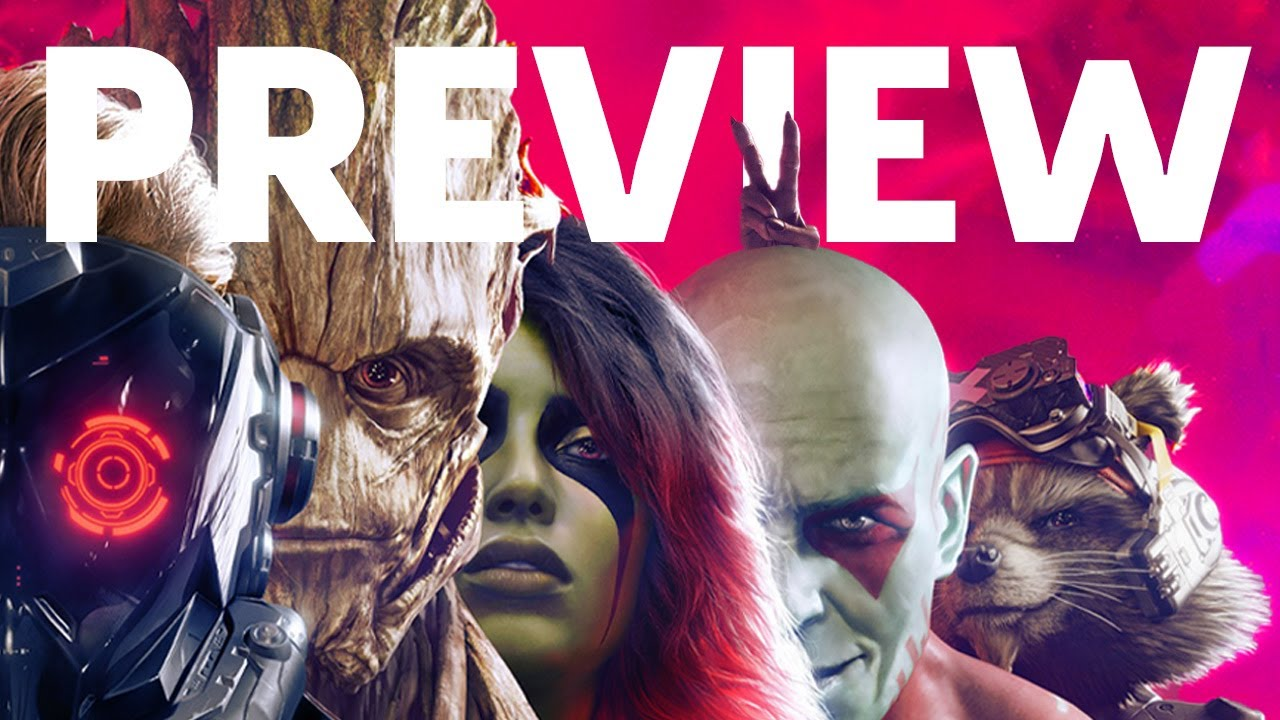 Marvel's Guardians of the Galaxy - Hands-On Preview - GameSpot