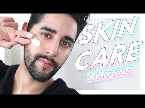 updated-skin-care-routine-oily-skin---evening-skin-care-routine---may-2019-✖-james-welsh
