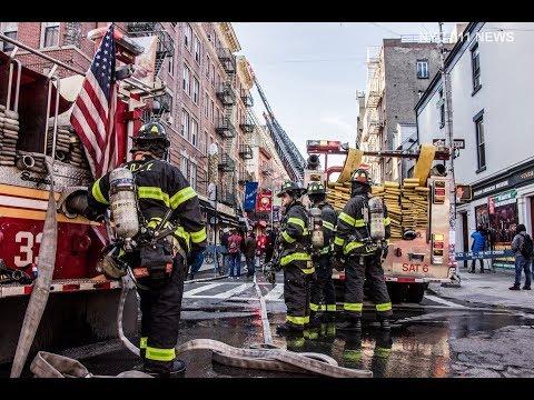 FDNY: 2 Alarm Restaurant Fire @ Little Italy, Manhattan