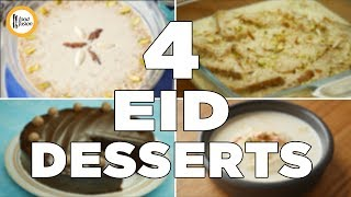 4 must try desserts on Eid. Recipes By Food Fusion
