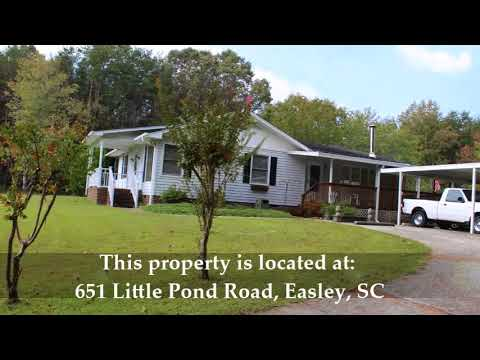 Home and acreage in Pickens County, SC at AUCTION