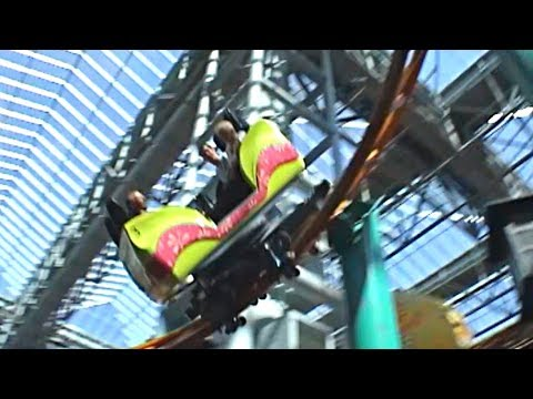 Fairly Odd Coaster (2008 off-ride footage) - Nickelodeon Universe