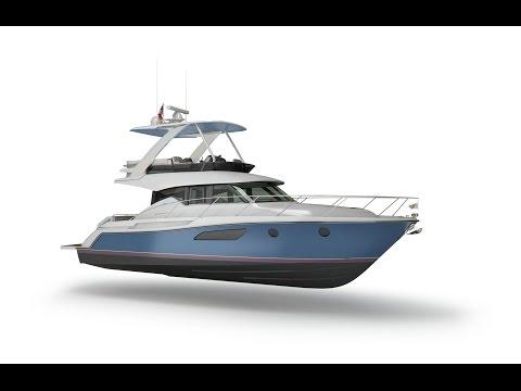 2017 Tiara Yachts F44 Flybridge Walk Through !!New Model!!