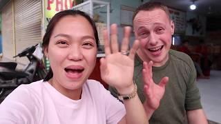 Vlog 817 ll Cùng Chồng Mỹ Thưởng Thức Tô PHỞ Ngày Đầu Về Việt Nam
