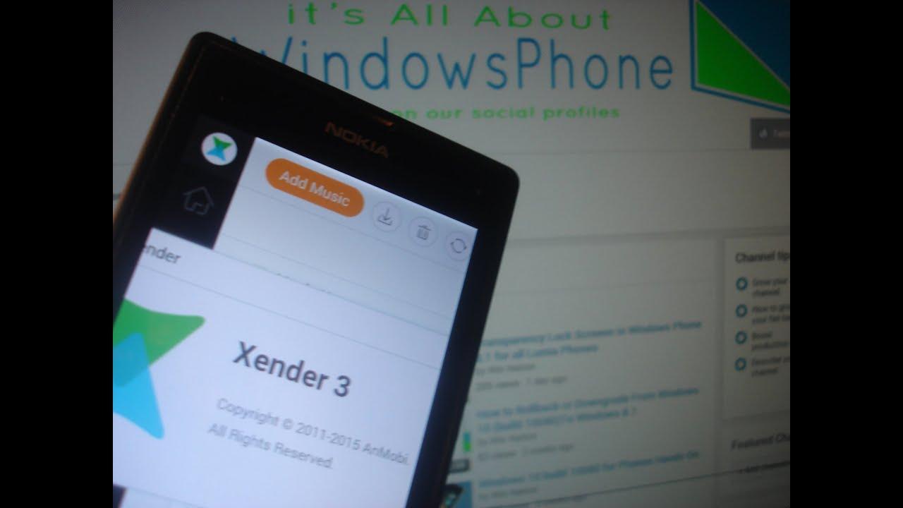 Xender App for Windows Phone