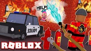 *NEW* MY NEW JOB!! | Roblox Firefighter Simulator