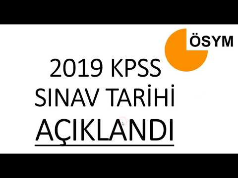 2019 KPSS