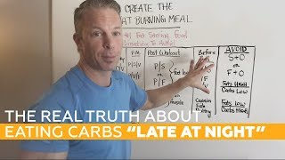 """The REAL TRUTH About Eating Carbs """"Late at Night"""" [SHOCKING Studies]"""