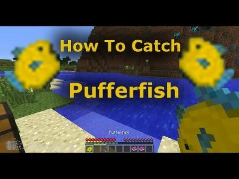 How To Catch Pufferfish In Minecraft 1.7 -  Minecraft Tutorial - Snapshot 13w36a