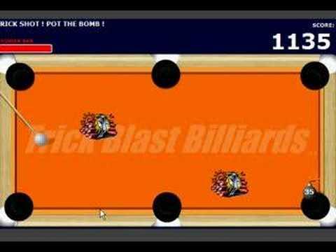 trick blast billard