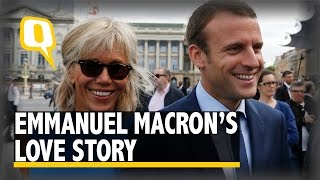 The Quint Emmanuel Macron and His Wife Brigittes Love Story is One for the Books