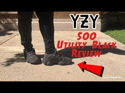 1a1f031727d ADIDAS YEEZY 500 UTILITY BLACK REVIEW + On-Feet! - YouTube