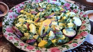 Легкий Весенний Салат/Весенний Салат Из Редиски/Spring Salad/Простой Пошаговый Рецепт Салата