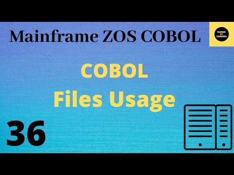 Mainframe Basics - COBOL - TUTORIAL - 9