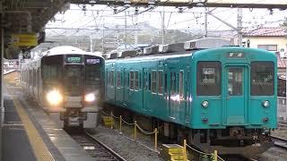 227系1000番台・普通 紀伊田辺駅