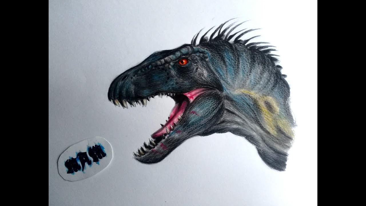 Dino Hibridos 2 Dibujando Al Indoraptor De Jurassic World Fallen Kingdom 0