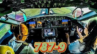 Yessica Pilots the 787 9 Dreamliner out of Mexico