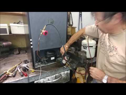Replacing an R600 compressor - JDNel Refrigeration