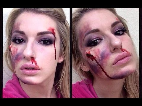 Special Effect Scars Blood Amp Bruises Makeup Tutorial