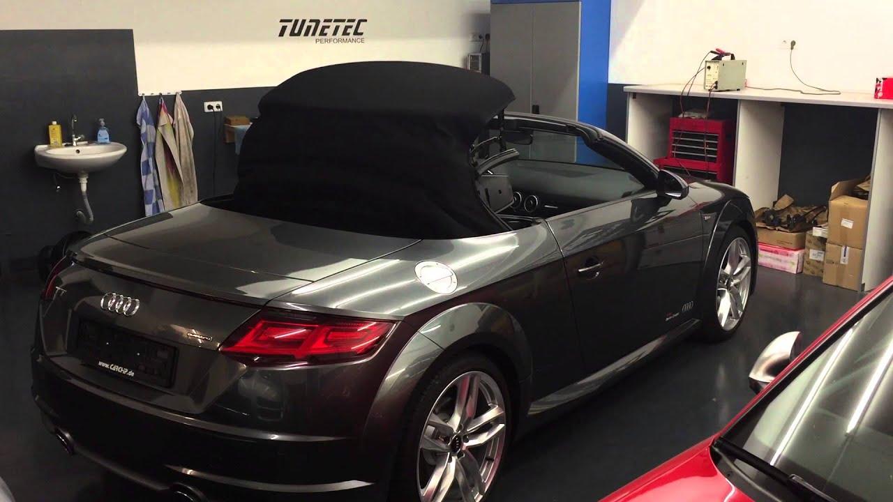 mods4cars smarttop for audi tt roadster 8s teaser youtube. Black Bedroom Furniture Sets. Home Design Ideas