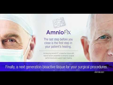 AM196 001 AmnioFix Spine Surgery