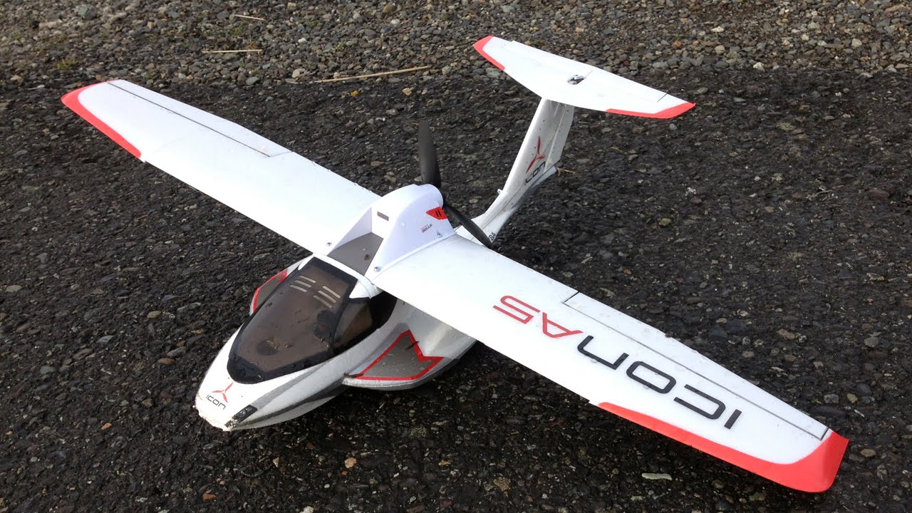 Icon A5 Flying Parkzone Ultra Micro I...