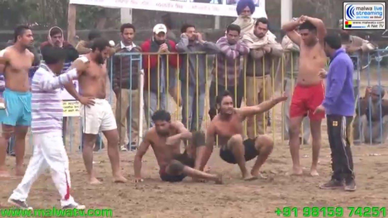 KUBBE (Ludhiana) Kabaddi Tournament - 2014. Part 1st.