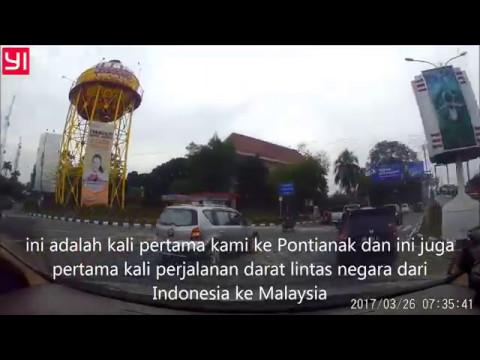 Dashcam Indonesia- Trans Kalimantan Pontianak - Simpang Ampar