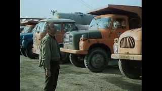 První den v práci,řidič Tatry 148