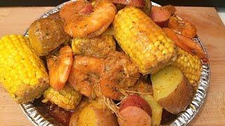 SEAFOOD BOIL Shrimp,sausage,Corn Seafood Boil  How To Make Seafood Boil SEAFOOD BOIL RECIPE