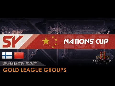 Finland A vs China EMA   Nations Cup 2017 - Gold Groups