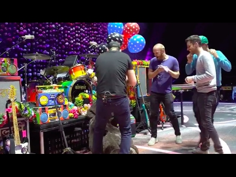 Coldplay pranked by Alessia Cara