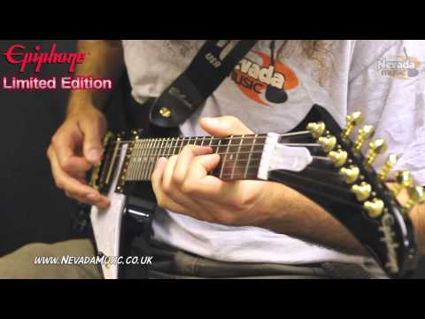 Epiphone Explorer Black Pearl Limited Edition Guitar Demo - PMT