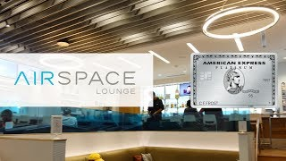 JFK Airspace Lounge: Messy Edition (Worst Amex Partner Lounge?)