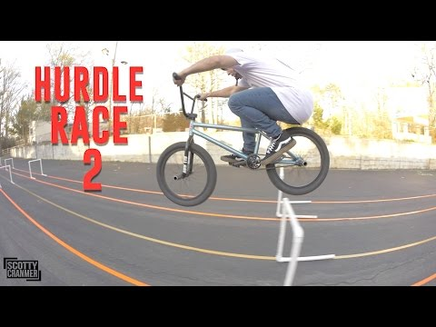 THE BMX HURDLE RACE!