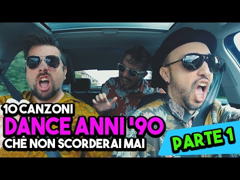 10 CANZONI DANCE ANNI '90 che non scorderai mai - (PARTE 1) - (LIPSYNC CAR #2) - hmatt