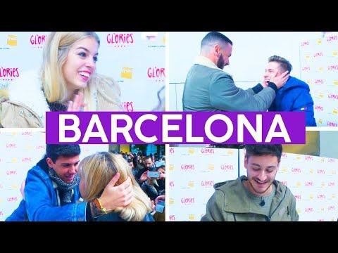 FIRMA DE DISCOS en BARCELONA con ALFRED, CEPEDA, RAOUL Y NEREA | OT 2017