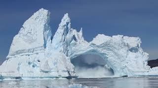 Айсберга в Гренландии. Greenland