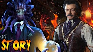 NERO Knew He Would Be KILLED! Shadows Of Evil DESTROYED! Black Ops 3 Zombies Storyline & Easter Eggs