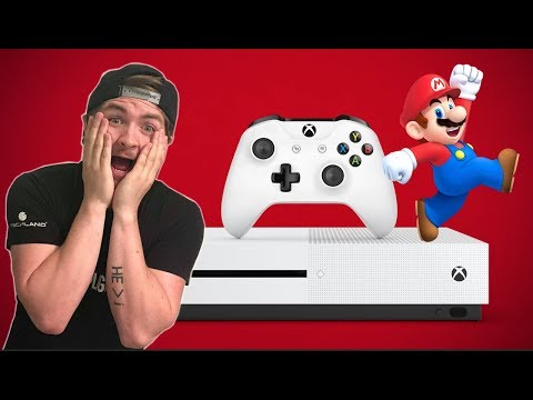 Curiouser And Curiouser Nintendo Mascots Appear On Xbox One Banner