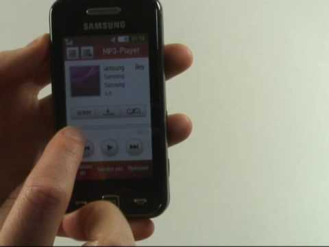 Samsung S5230 Star Test Musikplayer
