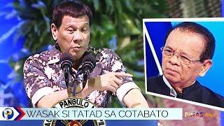 President Duterte: 'Tatad, alam ko ang sakit mo!'