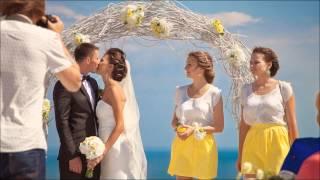Свадьба в Крыму, выездная церемония у моря. + 7 978 836 65 62