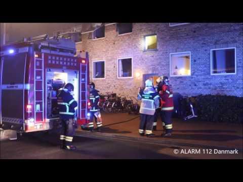 04.02.2017 Ild i lejlighed, Tårnby