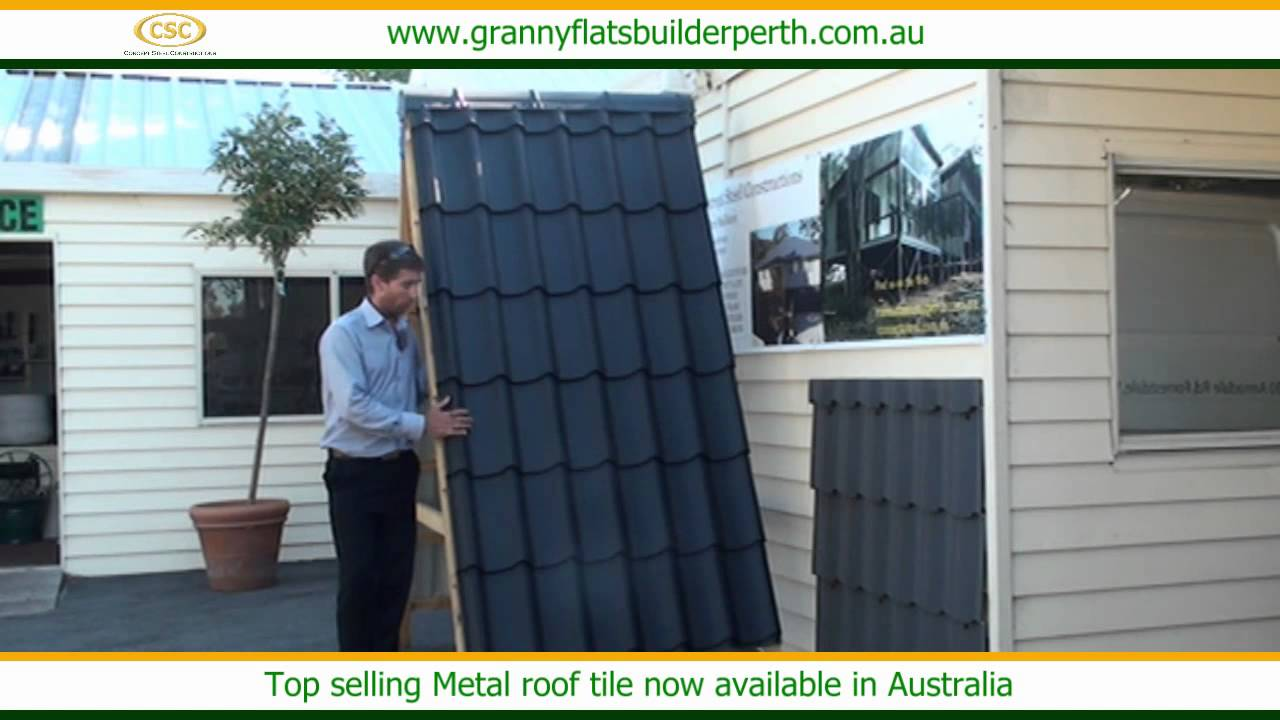 top selling metal roof tile now available in australia